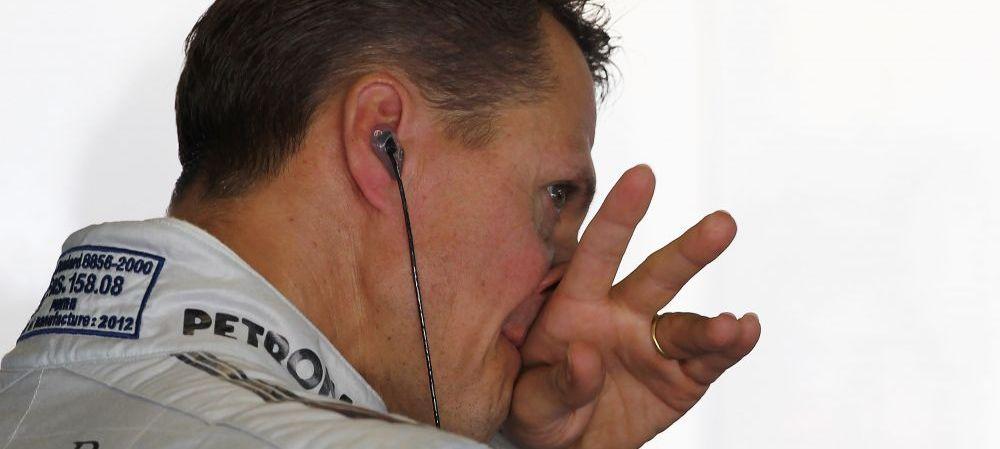Momentul EMOTIONANT pe care l-a ratat pilotul Michael Schumacher! E prima data cand se intampla asa ceva: