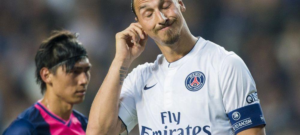 """Ibrahimovic? Un golan ingamfat si deloc inteligent"". Zlatan, facut praf de o legenda a fotbalului francez, dar laudat de marele Ronaldo"
