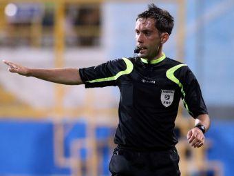El e favoritul CCA pentru a arbitra duelul de TITLU dintre Steaua si ASA Targu Mures: FRF merge pe mana unui arbitru FARA experienta europeana