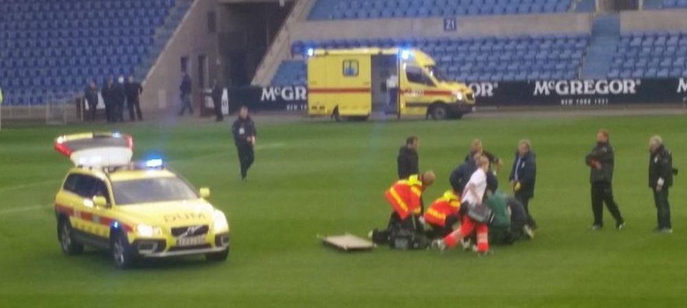 DRAMATIC! Un jucator din Belgia a facut ATAC DE CORD pe teren! Medicii l-au resuscitat timp de 30 de minute!