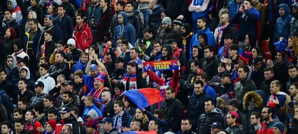 Masura de ULTIMA ORA a Stelei, din cauza fanilor! Ce se intampla la meciul cu Dinamo dupa gestul ULTRASILOR din peluze:
