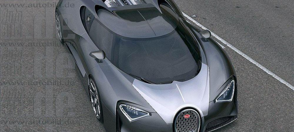FOTO Bugatti lanseaza o noua CAPODOPERA! Ce viteza anunta Chiron, masina care inlocuieste Veyron din 2016