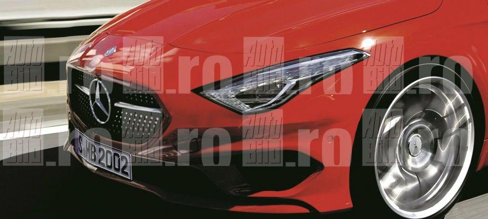 IMAGINI IN EXCLUSIVITATE - Viitorul Mercedes-Benz Clasa A Coupe