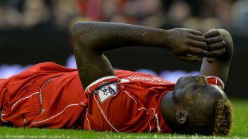 """26 milioane de euro un gol, 1.3 milioane de euro un sut. Cifrele CATASTROFEI """"BALOTELLI"""", teapa sezonului la Liverpool"""