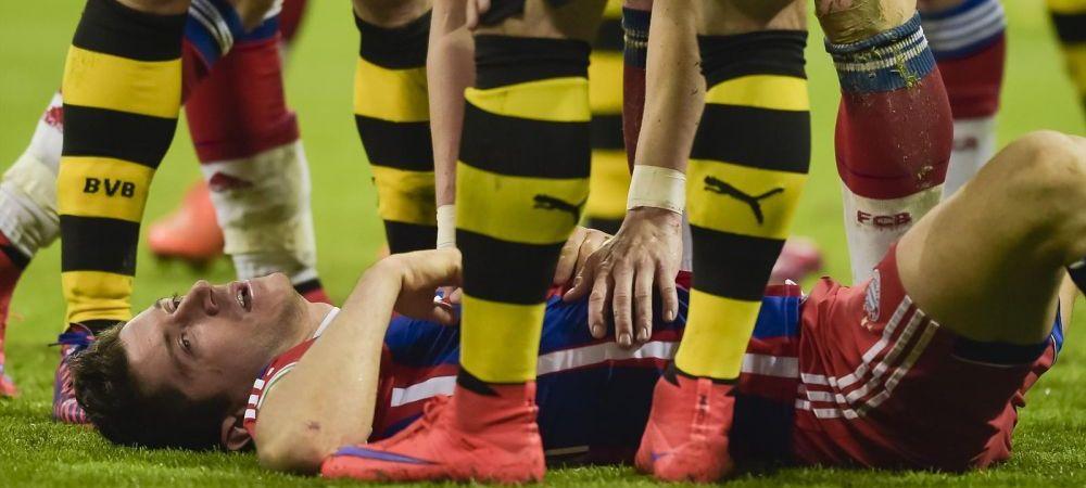 Cu ZORRO la atac! Lewandowski joaca cu masca impotriva Barcei! Anuntul facut de atacant