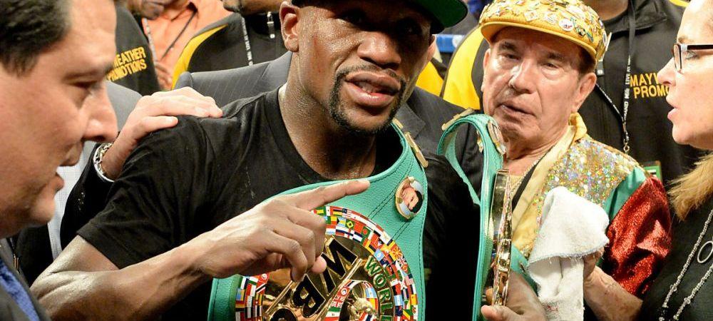 """""""Ma retrag in septembrie!"""" Mayweather socheaza inainte de meciul cu Pacquiao! Ce zice despre recordul lui Rocky Marciano"""
