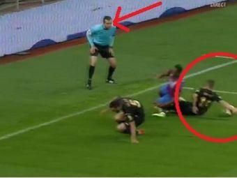 """Craciunescu, despre cea mai controversata faza a meciului: """"Penalty clar pentru Steaua! Nu doar hent, ci si fault la Varela"""""""