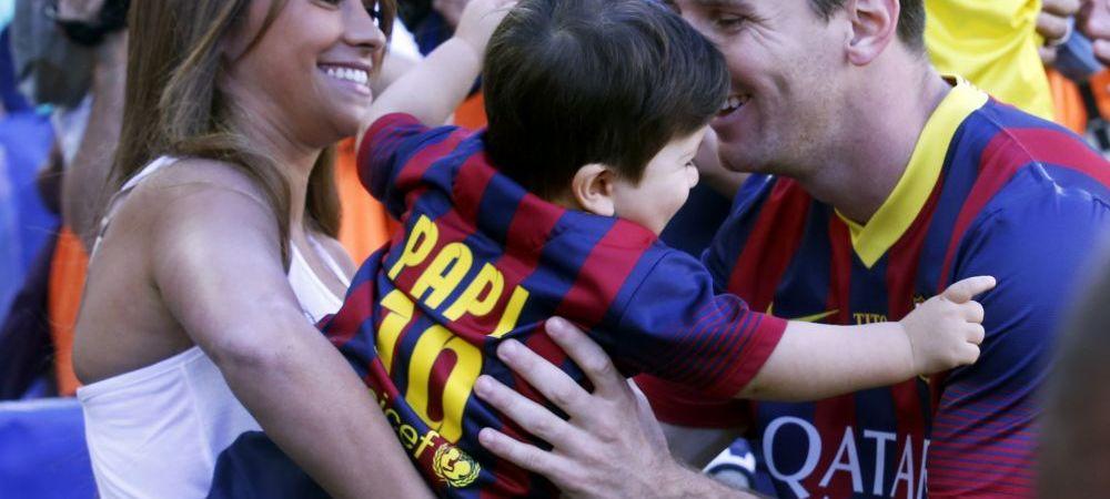 Momente MAGICE pentru Messi. Va avea din nou un baiat! Ce nume ii pune copilului
