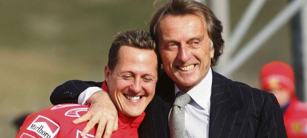 """""""Mi se face rau sa vad cum este acum Schumacher!"""" Marturiile emotionante ale fostului presedinte de la Ferrari"""