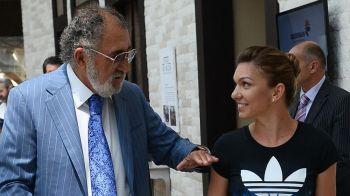 Aparitie surpriza pentru Simona Halep. Unde a fost filmata alaturi de Ion Tiriac dupa eliminarea de la Madrid. FOTO