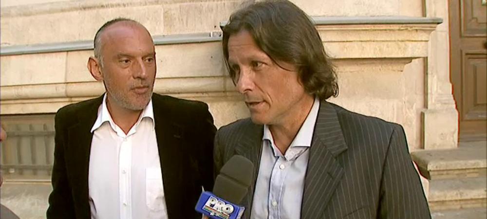 """Primarul Nichita poate ajunge azi dupa gratii in CAZUL """"AMANTA"""". Prunea si Nicolo Napoli au venit la Curtea de Apel sa-l sustina"""