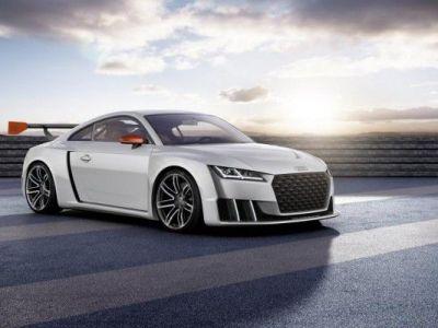 Spectaculos! Noul Audi TT Clubsport ataca circuitul cu toti cei 600 CP | GALERIE FOTO