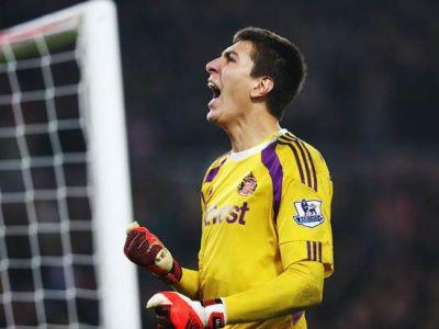 Victorie URIASA pentru Pantilimon la Everton! Sunderland e ca si salvata, portarul roman e considerat omul meciului