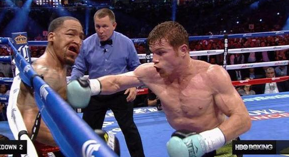 "Mayweather, pazea ca vine ghiuleaua! ""CANELO"" Alvarez a reusit un KO absolut senzational in aceasta dimineata! VIDEO"