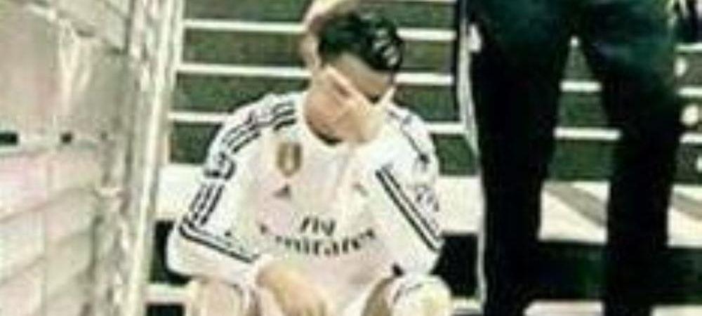 Imaginea DEPRESIEI la Real Madrid. Cea mai trista aparitie a lui Cristiano Ronaldo dupa ce a realizat ca titlul e al Barcelonei