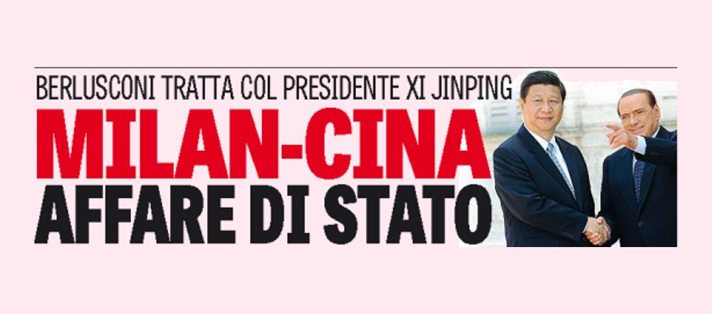 COMUNISTII vor sa puna mana pe Milan. Intalnire la cel mai inalt nivel intre Berlusconi si Partidul Comunist Chinez