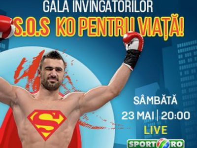 Super gala Superkombat, sambata 23 mai la Sala Polivalenta din Bucuresti! 14 meciuri de senzatie in direct la Sport.ro de la 20:00
