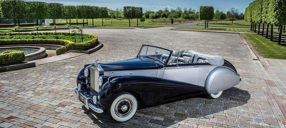 Fascinant! Nu e o masina clasica, e cea mai moderna decapotabila produsa de Rolls Royce | GALERIE FOTO