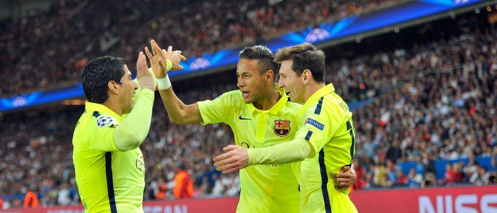 Performanta unica in Europa reusita de Messi, Suarez si Neymar. Un singur club a marcat mai mult decat cei trei sezonul asta