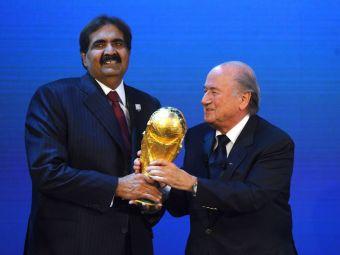 Scandalul MITA la FIFA, intr-un punct critic: primul sef de federatie suspendat pentru ca a luat SPAGA de la seicii arabi!