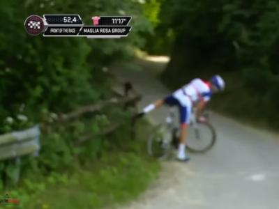 Tvetcov a facut o etapa excelenta in Giro, dar finalul a fost unul marcat de ghinioane! Romanul a gresit traseul: VIDEO