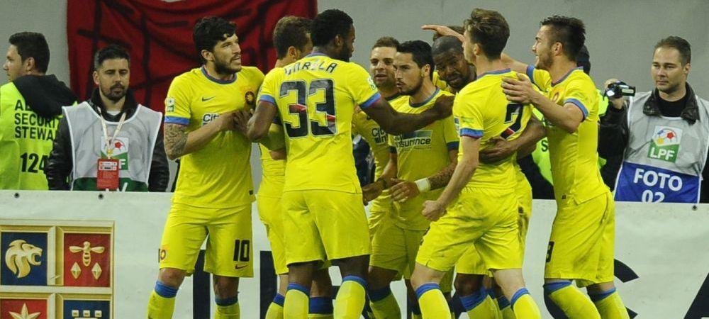 Steaua poate pierde titlul in fata echipei pe care a SCAPAT-O de la FALIMENT! Situatie INCREDIBILA in Liga I
