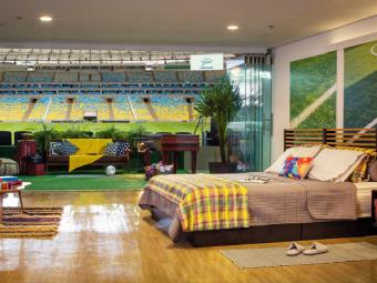 VIDEO Brazilienii au transformat Maracana in HOTEL! Cum poti sa petreci o noapte in arena care a gazduit finala CM 2014