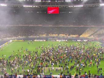 Imaginile fabuloase pentru care Dnipro ar putea sa plateasca pentru calificarea in finala Europa League. Ce au facut fanii