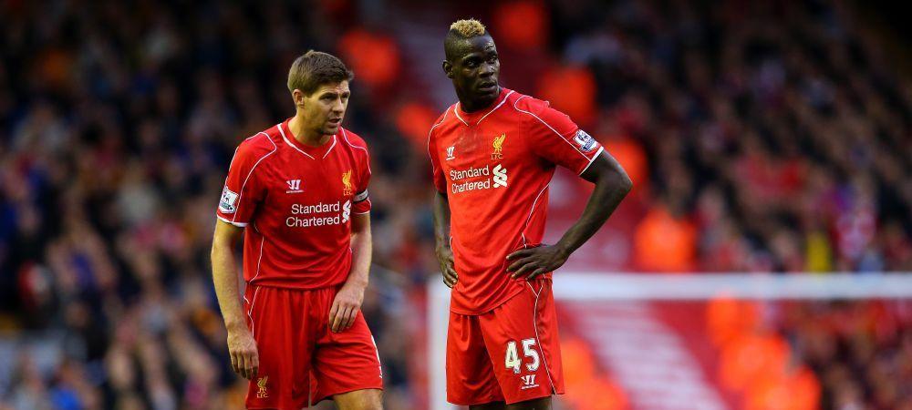 Scrisoarea emotionanta a lui Balotelli pentru Gerrard la ultimul meci pe Anfield pentru legenda lui Liverpool