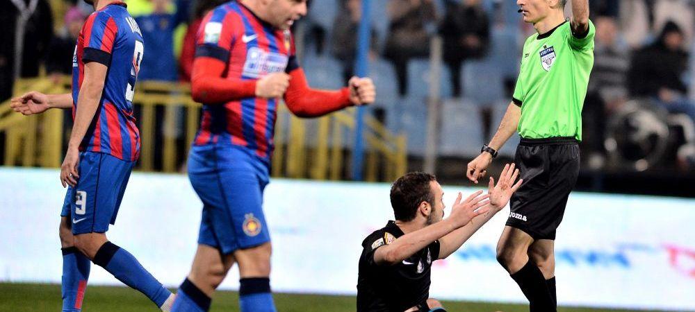 Se stie arbitrul finalei Cupei Ligii | Un central fara experienta pe plan european, trimis pe National Arena, la Steaua - Pandurii