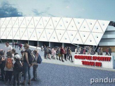 Cum va arata noua ARENA de 20 de milioane de la Targu Jiu.Capacitate de 15.000 de locuri cu tribune acoperite. FOTO