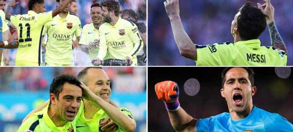 """Cifrele """"SCANDALOASE"""" cu care Barcelona a cucerit al 23-lea titlu din istorie"""