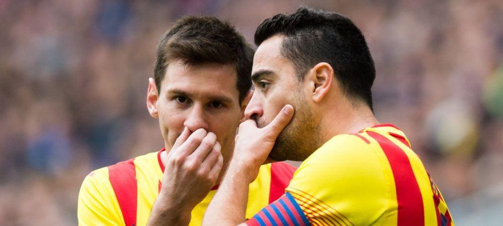 """""""Gata cu prosteala asta, Leo! Vrei sa ia iar Ronaldo Balonul de Aur?"""" Dialogul incredibil cu Xavi care l-a transformat pe Messi"""