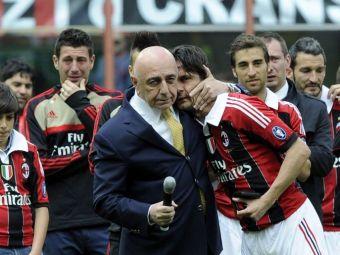 """Pippo, out dupa finalul campionatului, Galliani anunta: """"Discut cu Ancelotti, Capello si Arrigo Sacchi"""". Cum poate renaste Milanul"""