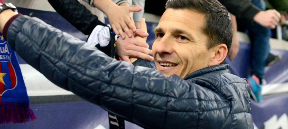 """From Steaua with LOVE! Stelistii i-au dat mesaje lui Galca de ziua lui: """"Sper sa castigi titlul pentru tine, esti peste Reghe"""""""