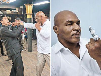 Incident incredibil la filmari! Un actor l-a lovit pe Tyson si i-a rupt degetul! Cum a reactionat fostul campion mondial de box