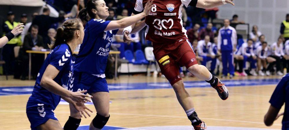 CSM Bucuresti 23-22 HCM Baia Mare, in primul meci al FINALEI campionatului! Duelul GALACTIC al Romaniei se decide la Baia Mare