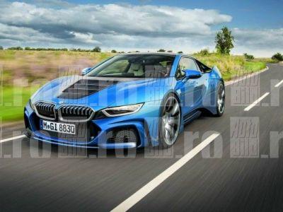 Asta da cadou! BMW isi sarbatoreste centenarul cu cel mai spectaculos supercar al tuturor timpurilor | Imagini cu noul BMW i8S