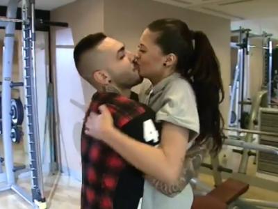 Antonia si Alex Velea, cel mai in forma cuplu din Romania! Cum se antreneaza cei doi la sala. VIDEO