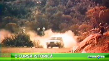 Dacia, asa cum n-ai mai vazut-o! Cum arata modelul 1310 care facea FURORI in urma cu 30 de ani, in Raliul Greciei: VIDEO
