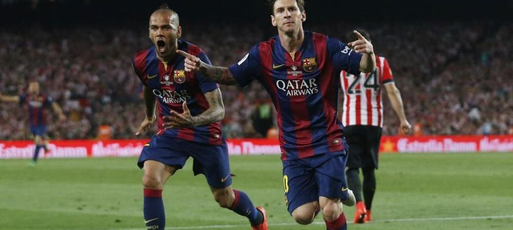 EXTRATERESTRU! Messi a dat un gol FABULOS dupa ce a zburat ca un SUPER EROU printre adversari! VIDEO