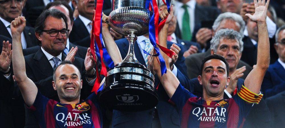 Barcelona plateste SCUMP pentru victoria din Cupa: Iniesta s-a accidentat si poate rata finala Ligii Campionilor