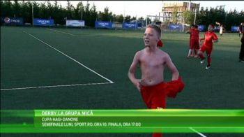 Dinamo s-a razbunat pe Steaua, in ziua in care ros-albastrii au luat si Cupa! Pustii au facut spectacol in derby, la Cupa Hagi-Danone! Semifinalele sunt LUNI, 10:00, la Sport.ro