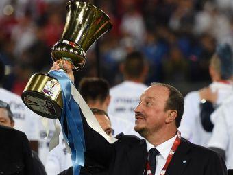 Prima declaratie a lui Rafa Benitez despre numirea la Real! Ce a spus antrenorul la plecarea de la Napoli