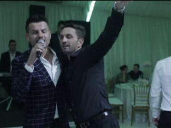 Arbitrul Coltescu a petrecut cu dinamovistii la nunta lui Barboianu! Cum s-au intrecut toti in dedicatii pe manele! VIDEO