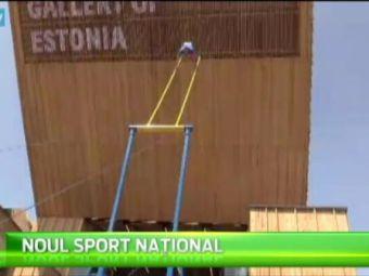 Datul in leagan, sport national! Estonienii sunt campioni mondiali la cea mai nebuna disciplina: VIDEO