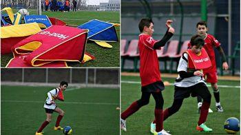Inventia romaneasca ce va revolutiona fotbalul! Cele mai mari scoli de fotbal ale Europei pun in practica ideea unui roman