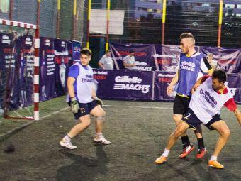 (P) Afla cum a fost la maratonul de fotbal fara rosu din Iasi, unde Costel Galca a facut spectacol!