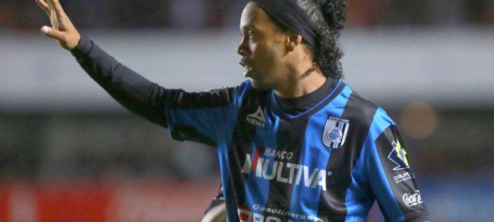 '90% transferul e facut!' Ronaldinho si-a gasit echipa! Cine pune mana pe BRILIANTUL Braziliei