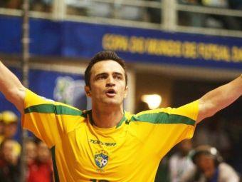 Transfer spectaculos pentru legenda futsalului, brazilianul FALCAO! Ce club istoric din Europa l-a convins sa semneze